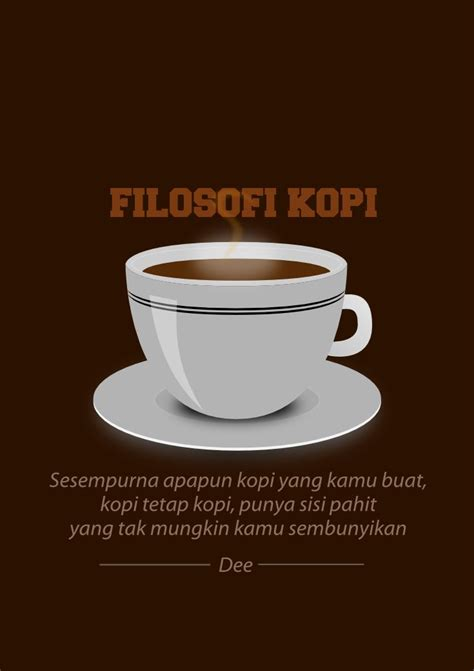 Filosofi Kopi A Coffee Table Book The filosofi kopi bobby soxer