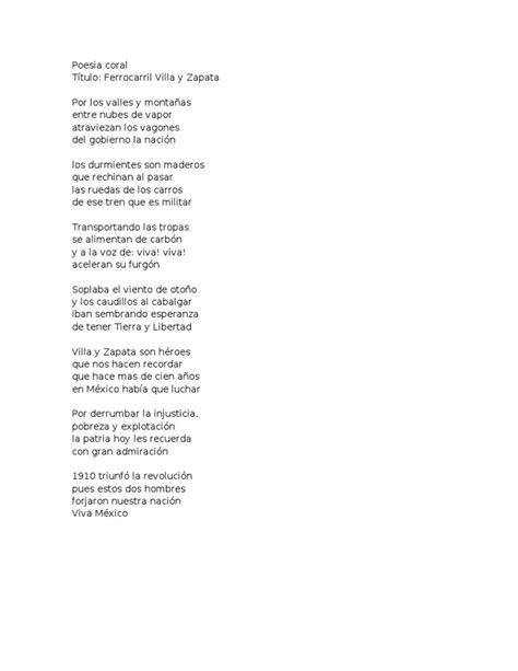 acrostico para doctor zapata poesia coral