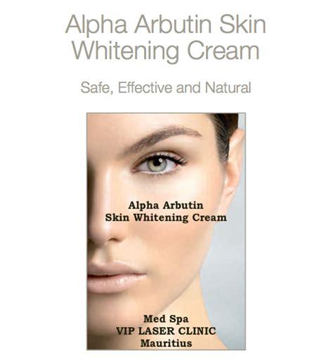 Wap Whitening Alpha Arbutin vip laser clinic med spa mauritius alpha arbutin skin whitening