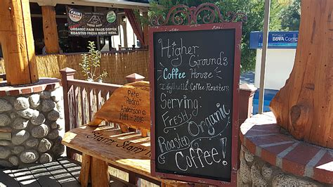 California Coffee House by Higher Grounds Coffee House Idyllwild California