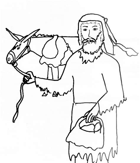 joshua and caleb free coloring pages