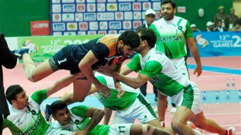 india vs pakistan kabaddi south asian india beat pakistan in kabaddi