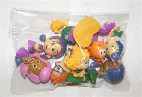 guppy figurines nickelodeon guppies deluxe figure set of 10 cake