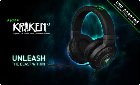 Headset Razer Kraken 7 1 Chroma razer kraken 7 1 chroma usb gaming headset