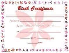 1000 images about birth certificate templates on