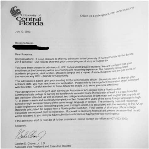 Acceptance Letter For Attending Hghs Alumni Updates