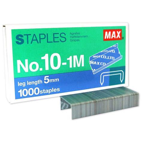 Staples No10 1m Max max staples no 10 1m