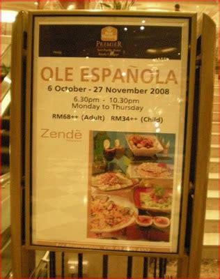 lushia s food dinner buffet zende restaurant seri