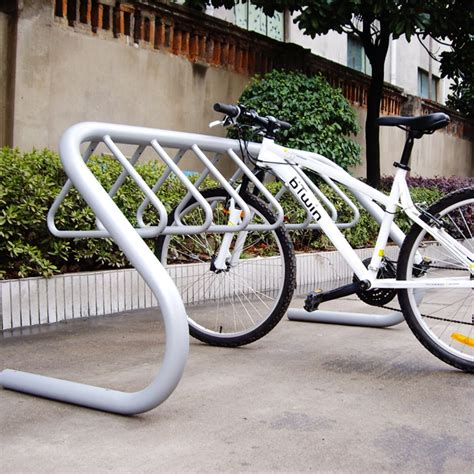 Bike Parking Rack by Bike Parking For Sided Capacity Bicycle Rack