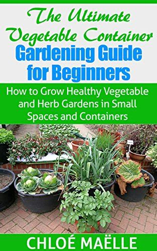 container herb garden for beginners ebook vegetable container gardening guide for beginners