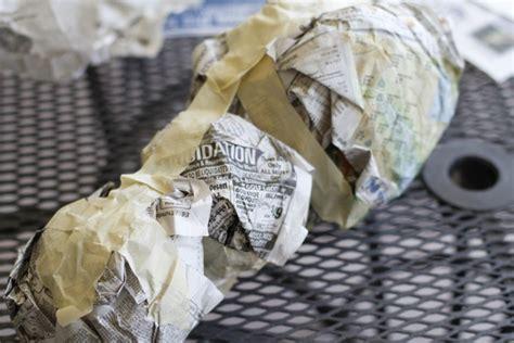 How To Make A Paper Rock - diy une licorne en papier mach 233