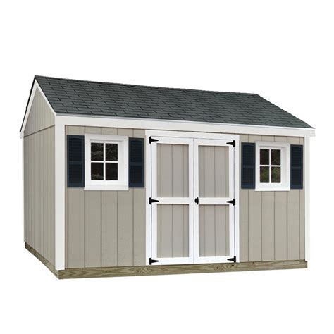 Sheds Usa Consumer Reviews by Sheds Usa 10 Ft X 12 Ft Installed Smart Siding Classic T1012c The Home Depot