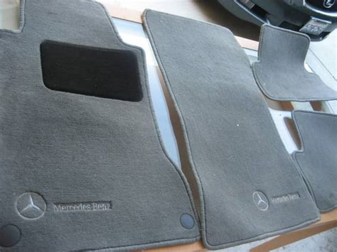 2010 Mercedes C300 Floor Mats by Genunine Mercedes Carpet Floor Mats C Class W203 2001 2007