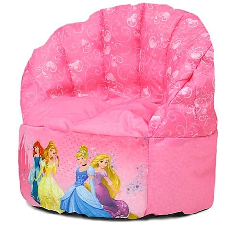disney princess bean bag sofa chair furniture gt disney 174 princess bean bag chair from buy buy baby