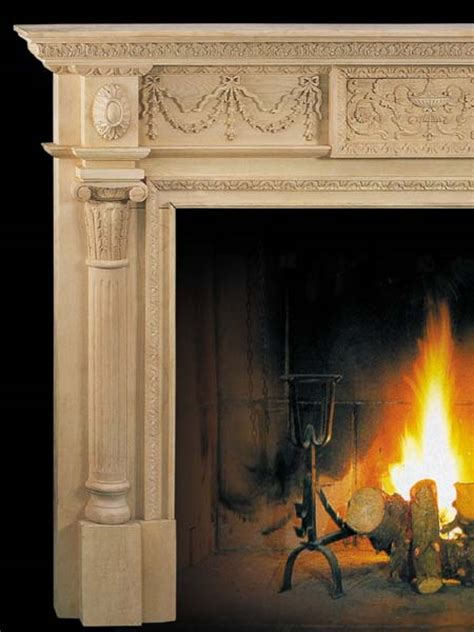 Wood Fireplace Mantels by Wood Fireplace Carved Wood Fireplace Mantels And