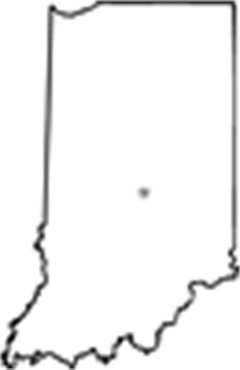 indiana state map coloring page indiana outline image