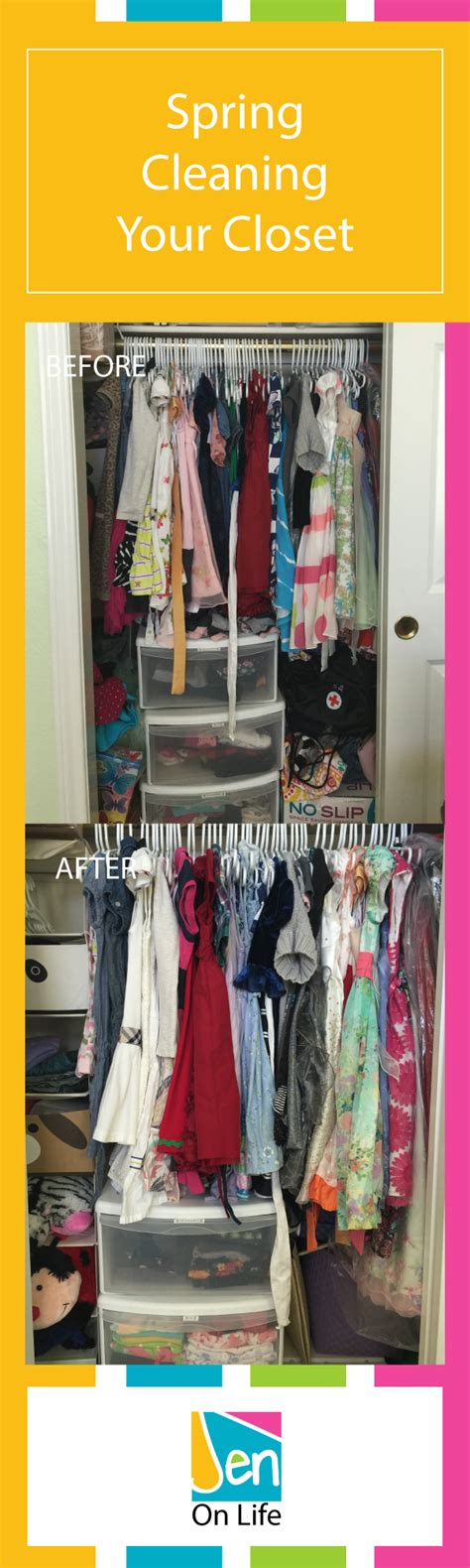 spring cleaning closet spring cleaning your closet jen on life