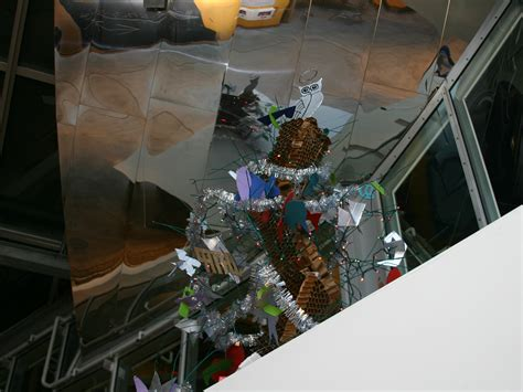 tree hacks ihtfp hack gallery gehry christmas tree in stata center
