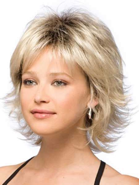 fine thin hairstyles for women layered and with round face 25 most superlative medium length layered hairstyles