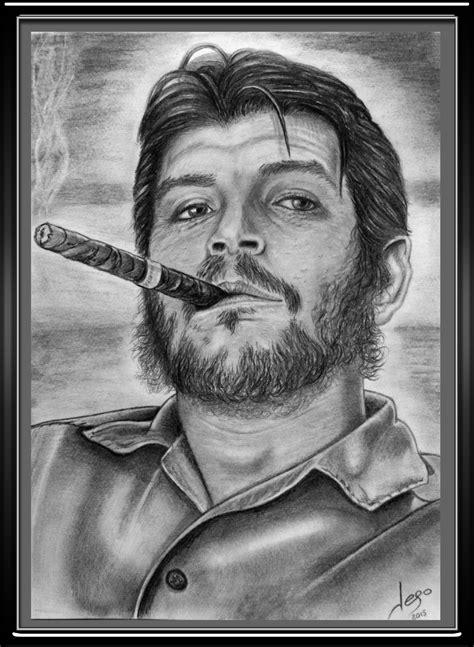 el lpiz del carpintero 8420406783 retratos realistas el ch 233 guevara a l 225 piz por jego arte