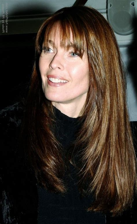 carol alt long haircut angled on the sides and falling 15 best collection of angled long haircuts