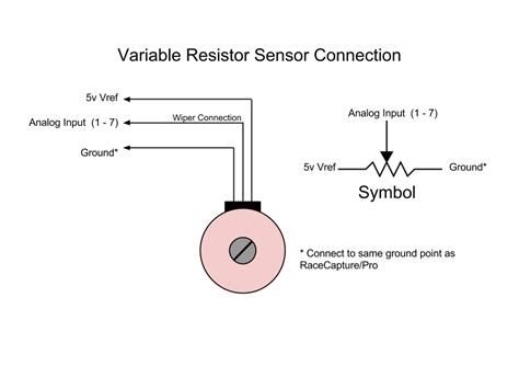 how to connect variable resistor in circuit variable resistor wiring