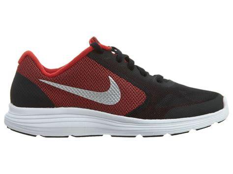 nike revolution  big kids   red black athletic shoes youth size  ebay