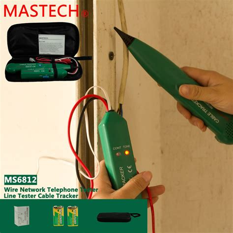 electrical wire tracker mastech ms6812 network telephone electric wire line cable