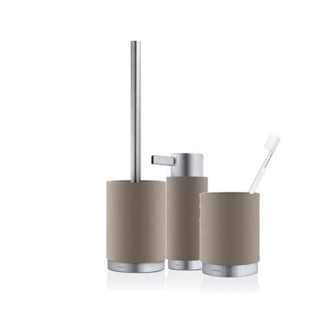 Blomus Bathroom Accessories Blomus Ara Bathroom Set Taupe Black By Design