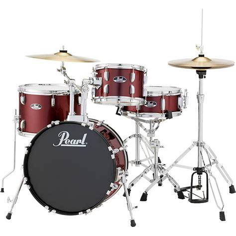 Pearl Roadshow Drum Set 4pcs pearl roadshow 4 jazz drum set musician s friend