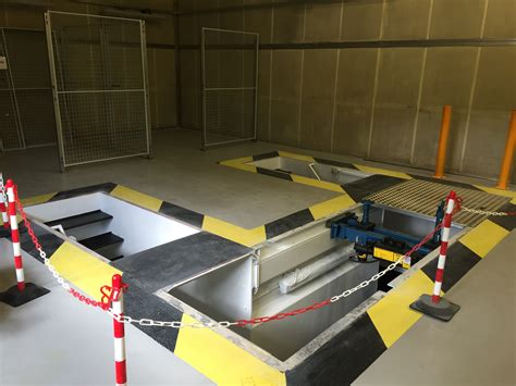 Pit Garage by Pre Fabricated Steel Pits Workshop Pits Atf Inspection