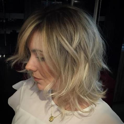 blunt bob with wispy ends 30 trendiest shaggy bob haircuts of the season