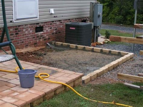 diy decks and patios beautiful cheapest way to build a patio 4 diy concrete