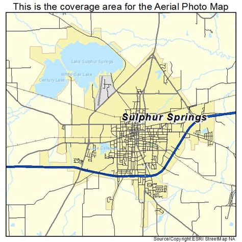map of sulphur springs texas aerial photography map of sulphur springs tx texas