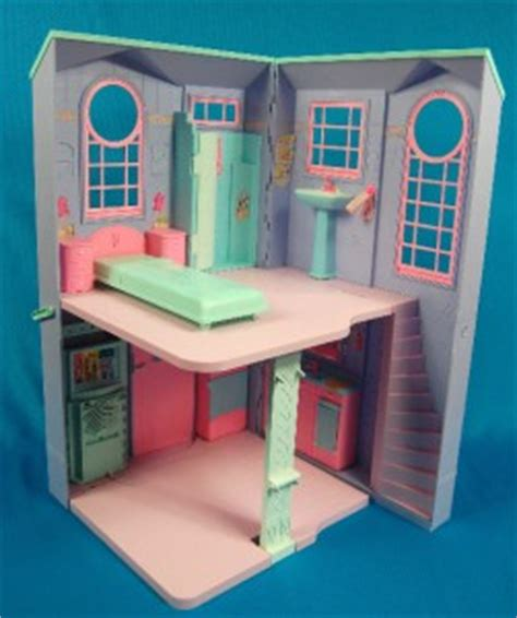 barbie folding doll house barbie doll house talking folding town house accessories ebay