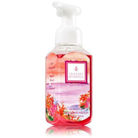 bathtub foam soap bath body works gentle foaming hand soaps