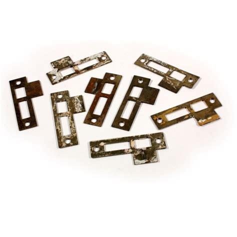 antique strike plates for mortise locks 1 4 spacing