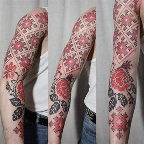 tattoo cross stitch best 25 ukrainian ideas on traditional