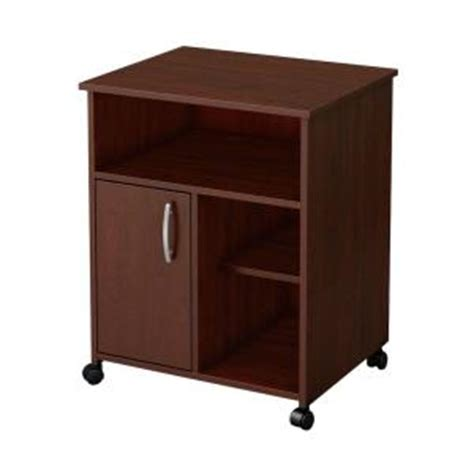 south shore 23 5 in w microwave kitchen cart with