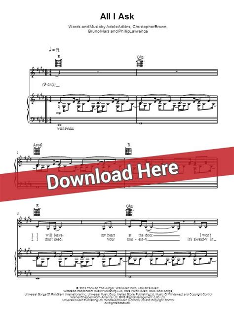 download mp3 gratis adele all i ask adele all i ask sheet music piano notes chords