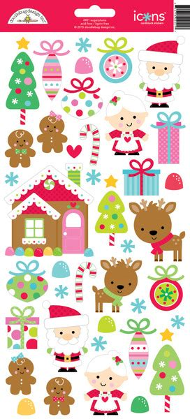 doodlebug stickers doodlebug design sugarplums icons stickers