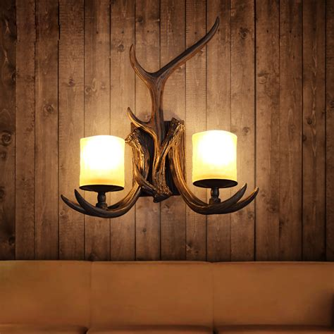 beautiful antler sconces great home decor