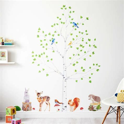 Allposters Wandtattoo Kinderzimmer by 35 Wandtattoos Baum Die Einen Hauch Natur Nach Hause Bringen