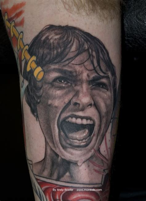 tattoo psycho 1000 images about alfred hitchcock tattoos on