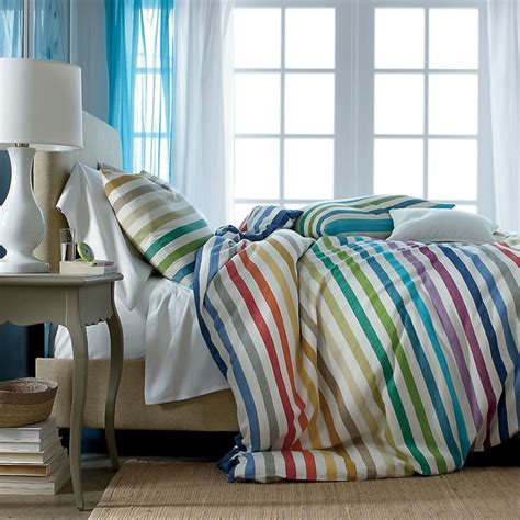island bedding island stripe comforter cover duvet cover and sham