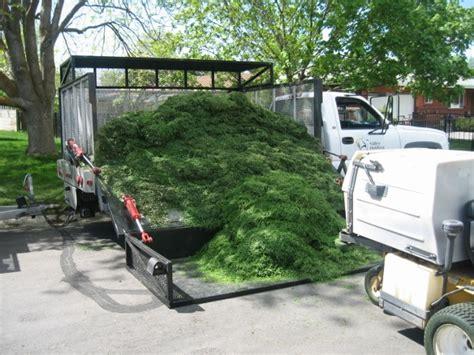 landscape truck beds side load side dump landscape truck bed lawnsite