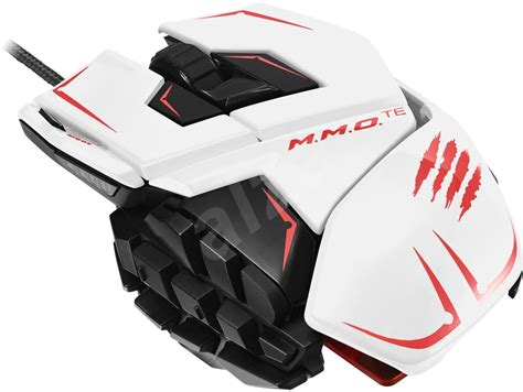 Mouse Mad Catz mad catz te mmo white mouse alzashop
