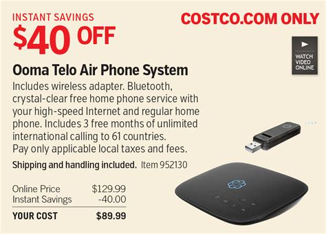 Free Home Phone Service by Black Friday