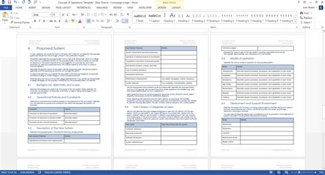 concept of operations template concept of operations template