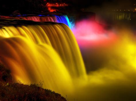 niagara falls night a must visit places niagara falls by night wonderful